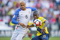 Seattle, WA - June 16, 2016: The U.S. Men's National team defeat Ecuador 2-1 in Quarterfinal action at the 2016 Copa America Centenario at CenturyLink Field.