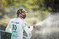 GASLY Pierre (fra), Scuderia AlphaTauri Honda AT01, portrait celebrating victory with the team during the Formula 1 Gran Premio Heineken D'italia 2020, 2020 Italian Grand Prix, from September 4 to 6, 2020 on the Autodromo Nazionale di Monza, in Monza, near Milano, Italy <br /> Monza 06-09-2020 Formula 1 GP Monza<br /> Photo Florent Gooden/DPPI/Panoramic/Insidefoto <br /> ITALY ONLY