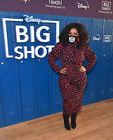 """LOS ANGELES, CA - APRIL 14: Yvette Nicole Brown attends the world premiere drive-in screening of the Disney + original series """"BIG SHOT"""" at The Grove in Los Angeles, California on April 14, 2021. (Photo by Stewart Cook/Disney +/PictureGroup)"""
