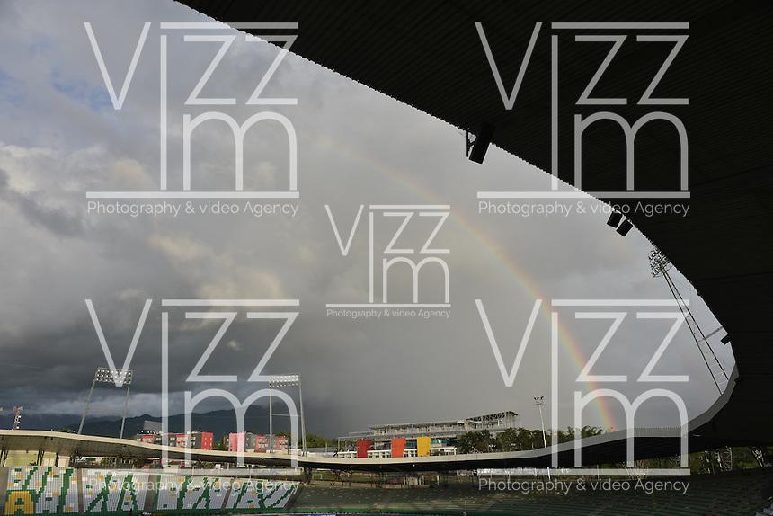 ARMENIA -COLOMBIA. 11-05-2014. Estadio Centenario de Armenia, Colombia. / Centenario stadium, Armenia, Colombia. Photo: VizzorImage/ Gabriel Aponte / Staff