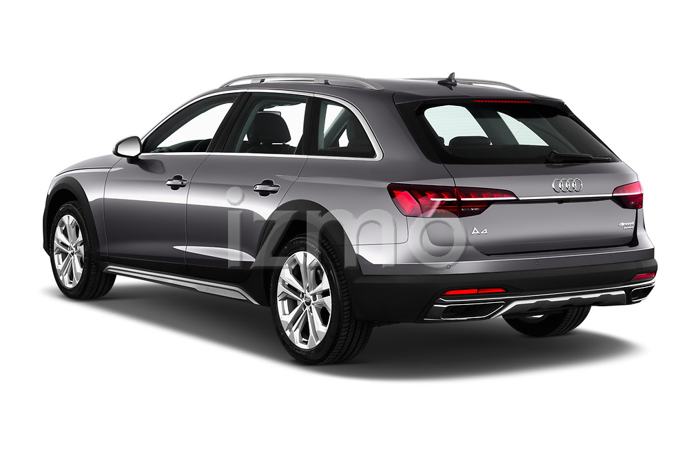 Car pictures of rear three quarter view of a 2020 Audi A4-Allord Base 5 Door Wagon angular rear