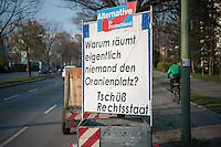 2014/03/30 Berlin | AfD-Plakat gegen Flüchtlinge