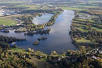 Dove Elbe Regattastrecke: EUROPA, DEUTSCHLAND, HAMBURG,  29.10.2019: Dove Elbe Regattastrecke