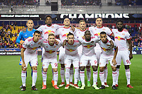 Harrison, NJ - Thursday March 01, 2018: New York Red Bulls Starting Eleven. The New York Red Bulls defeated C.D. Olimpia 2-0 (3-1 on aggregate) during a 2018 CONCACAF Champions League Round of 16 match at Red Bull Arena.