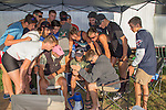 Rowing, US Junior National Rowing Team, watching USM8 at Olympics, Vancouver Lake, Vancouver, 2016-08-12, Washington State, Pacific Northwest, USA, competitive rowing,