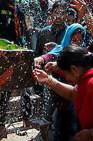 Balaju mela Hindu bating festival, Kathmandu, Nepal