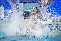 Caeleb Dressel of USA celebates after winning men's 100m freestyle final during 18th Fina World Championships Gwangju 2019 at Nambu University Municipal Aquatics Centre, Gwangju, on 25  July 2019, Korea.  Photo by : Ike Li / Prezz Images