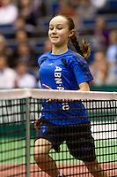 11-2-10, Rotterdam, Tennis, ABNAMROWTT, Gael Monfils, Thiemo de Bakker