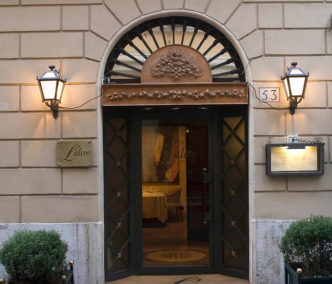 Exterior, Pan Li Alto Mastai Restaurant, Rome, Italy