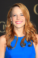 """LOS ANGELES - MAR 1:  Katie Leclerc at the """"Cinderella"""" World Premiere at the El Capitan Theater on March 1, 2015 in Los Angeles, CA"""