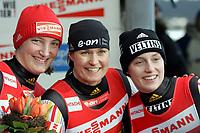 14.01.2007: Rennrodel-WM Oberhof Damen