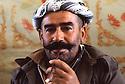 Iran 1979.Portrait of a peshmerga in Ziweh  Iran 1979 Portrait d'un peshmerga dns le camp de Ziwa