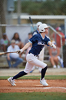 Nicholas Griffin (10) during the WWBA World Championship at the Roger Dean Complex on October 10, 2019 in Jupiter, Florida.  Nicholas Griffin attends Monticello High School in Monticello, AR and is committed to Arkansas.  (Mike Janes/Four Seam Images)