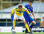 Inverness Caledonian Thistle v St Johnstone...27.10.12      SPL.Murray Davidson and Ross Draper.Picture by Graeme Hart..Copyright Perthshire Picture Agency.Tel: 01738 623350  Mobile: 07990 594431