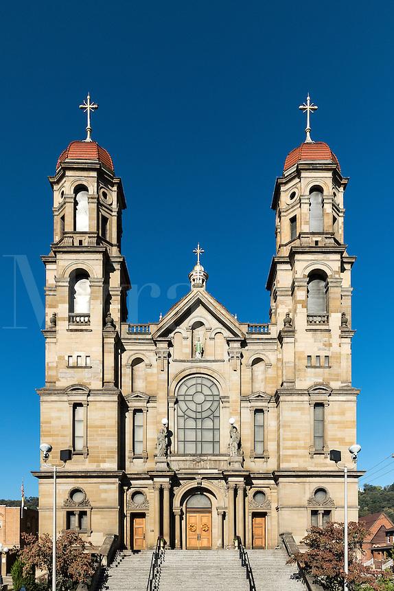 St. Peter Catholic Church, Seubenville, Ohio, USA.