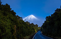 Mount Taranaki in Taranaki, New Zealand on Tuesday, 14 July 2020. Photo: Dave Lintott / lintottphoto.co.nz