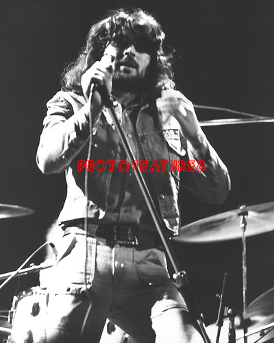 Deep Purple 1973 Ian Gillan.© Chris Walter.
