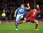 Aberdeen v St Johnstone…10.12.16     Pittodrie    SPFL<br />Liam Craig and Kenny McLean<br />Picture by Graeme Hart.<br />Copyright Perthshire Picture Agency<br />Tel: 01738 623350  Mobile: 07990 594431