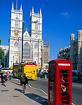 England, London: Westminster Abbey - West Front Towers | United Kingdom, London: Westminster Abbey - West Front Towers