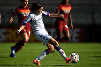 Daniela Sabatino of ACF Fiorentina scores the goal of 0-1  during the women Serie A football match between AS Roma and ACF Fiorentina at Tre Fontane Stadium in Roma (Italy), November 7th, 2020. Photo Andrea Staccioli / Insidefoto