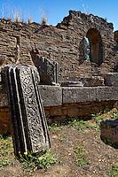 Workshop of Pheidias (5th cent. B.C.) in Olympia, Greece