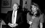 ALBERTO RUSCONI E CHICCA OLIVETTI<br /> FESTA ENRICO COVERI AL TOULA' <br /> MILANO 1989