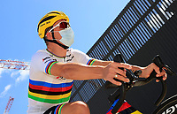 31st August 2020, Nice to Sisteron, France; Tour de France cycling tour, stage 3;   PEDERSEN Mads (DEN) of TREK - SEGAFREDO
