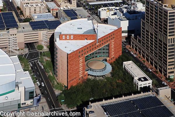 aerial photograph of the Municipal Court, Phoenix, Arizona