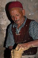 Töpfer,  Guellala, Djerba, Tunesien