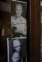 Portrait of Steve McCurry at the Tun Brothers Studio in Bagan, Myanmar, Burma.