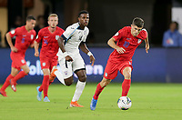 WASHINGTON, D.C. - OCTOBER 11: Christian Pulisic #10 of the United States runs with the ball during their Nations League game versus Cuba at Audi Field, on October 11, 2019 in Washington D.C.