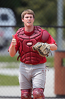 Indiana Hoosiers Dylan Swift #31 during a game vs UMass at Lake Myrtle Main Field in Auburndale, Florida;  March 16, 2011.  Indiana defeated UMass 11-10.  Photo By Mike Janes/Four Seam Images
