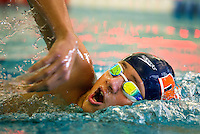 Photography of the SwimMAC Carolina swimmers competing in the 2016 IM Extreme meet at SwimMAC Training Facility at Charlotte Latin, January 2, 2016.<br /> <br /> Photo by  Patrick SchneiderPhoto.com