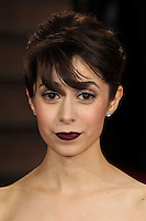 HOLLYWOOD, LOS ANGELES, CA, USA - MARCH 02: Cristin Milioti at the 86th Annual Academy Awards held at Dolby Theatre on March 2, 2014 in Hollywood, Los Angeles, California, United States. (Photo by Xavier Collin/Celebrity Monitor)
