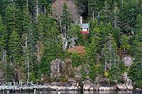 Secluded cabin, Deer Isle, Maine, USA