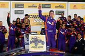 2017 Xfinity - Powershares QQQ 300<br /> Daytona International Speedway, Daytona Beach, FL USA<br /> Thursday 23 February 2017<br /> Denny celebrates in victory lane<br /> World Copyright: Lesley Ann Miller/LAT Images<br /> ref: Digital Image _LAM3489