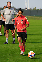 20200911 - TUBIZE , Belgium : Lola Wajnblum pictured during a training session of the Belgian Women's National Team, Red Flames , on the 11th of September 2020 in Tubize. PHOTO SEVIL OKTEM  SPORTPIX.BE
