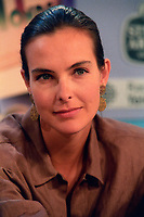 Montreal Qc) CANADA 1989 File Photo- Carole Bouquet at Montreal World Film Festival