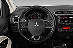 Car pictures of steering wheel view of a 2020 Mitsubishi Mirage-G4 SE 4 Door Sedan Steering Wheel