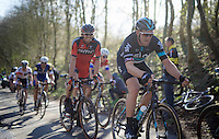 Ian Stannard (GBR/Sky) up the Karnemelkbeekstraat<br />