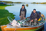 Gary Flemig and Michael Linehan heading out on Lough Leane to compete in the Killarney Salmon and Trout club competition on Sunday morning