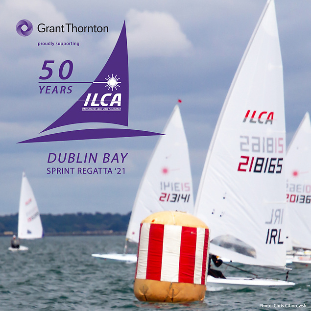 A limit of 100 boats can attend the Laser 50th celebrations on Dublin Bay