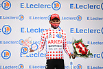 Nairo Quintana (COL) Team Arkea-Samsic takes over the mountains Polka Dot Jersey at the end of Stage 9 of the 2021 Tour de France, running 150.8km from Cluses to Tignes, France. 4th July 2021.  <br /> Picture: A.S.O./Pauline Ballet   Cyclefile<br /> <br /> All photos usage must carry mandatory copyright credit (© Cyclefile   A.S.O./Pauline Ballet)