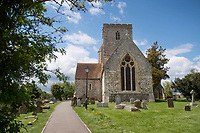 BNPS.co.uk (01202) 558833.<br /> Pic: ZacharyCulpin/BNPS<br /> <br /> The Parish Church of St Mary in the village of Cholsey, Oxfordshire - Where Agatha Christie is buried <br /> <br /> Agatha Christie enthusiasts have launched a crowdfunding campaign to raise £2.75m to buy the writer's former home and turn it into a tourist attraction.<br /> <br /> The legendary author lived at Winterbrook House for 42 years until her death and did most of her writing there, including Death on the Nile which has a new film adaptation being released next year.<br /> <br /> Current owner Gregor Kleinknecht put the five-bedroom home on the market last month but is supporting the band of locals who want to create a tribute to the author.