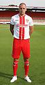Jimmy Smith of Stevenage<br />   Stevenage FC Team Photoshoot - Lamex Stadium, Stevenage - 16th July, 2013<br />  © Kevin Coleman 2013