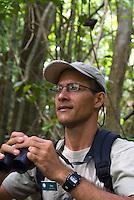 Ian Sanchez, guide, Smithsonian Tropical Research Institute, STRI, Barro Colorado, Lago Gatun, Panama