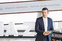 Ethan Hawke attends the photocall for the 64th Donostia award to a lifetime achievement at the Kursaal in San Sebastian, Spain, 17 September 2016. # FESTIVAL INTERNATIONAL DU FILM DE SAN SEBASTIAN - JOUR 1
