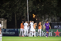 LAKE BUENA VISTA, FL - JULY 31: LAFC celebrates a goal during a game between Orlando City SC and Los Angeles FC at ESPN Wide World of Sports on July 31, 2020 in Lake Buena Vista, Florida.