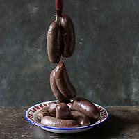 Gastronomie générale, Boudin antillais // Creole sausage - Stylisme : Valérie LHOMME