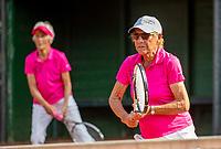 Hilversum, The Netherlands,  August 23, 2019,  Tulip Tennis Center, NSK, women's doubles<br /> Photo: Tennisimages/Henk Koster
